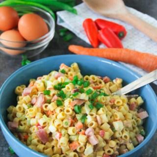 Ham and Egg Macaroni Salad