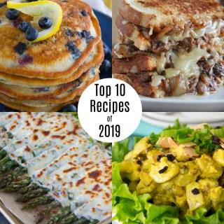 Top Ten Recipes of 2019