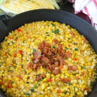 Fried Corn {Southern Fried Corn with Bacon}