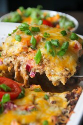 Taco Lasagna Recipe (Taco Lasagna With Tortillas}