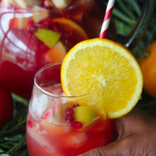 Thanksgiving Punch {Holiday Mocktail Punch}