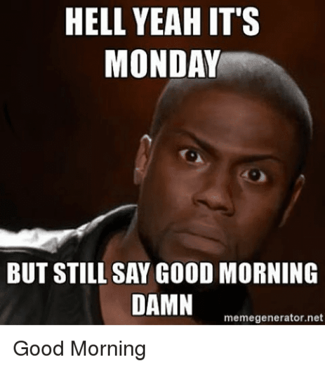 100 Funny Monday Memes To Start Your Week Right | SayingImages.com