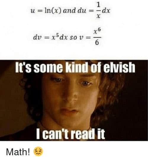 funny math elvish memes