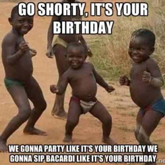 Happy Birthday Little Sister Meme Funny