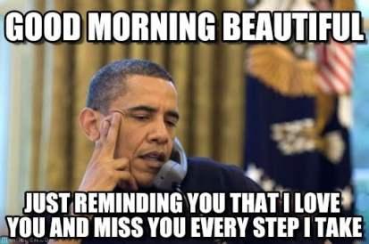 Good Morning I Love You Meme For Her