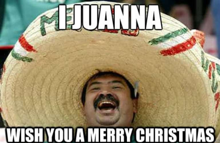 i juanna wish you a merry christmas funny memes