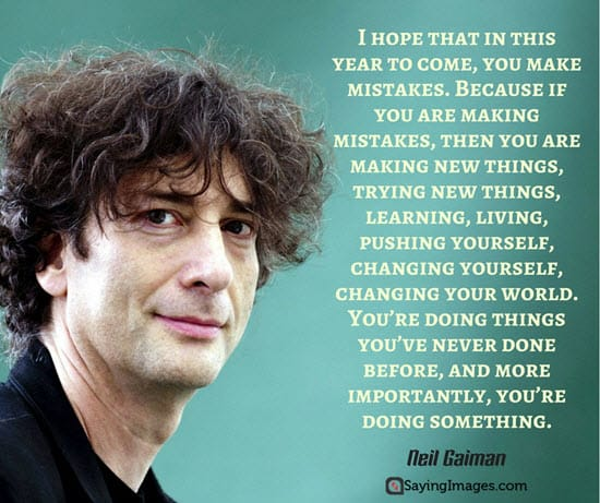 neil gaiman new year quotes