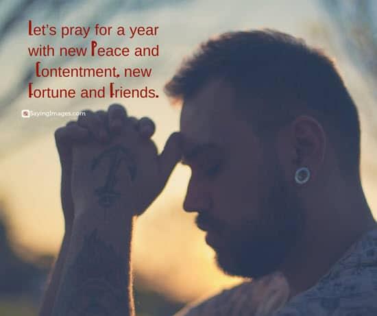 new year prayers