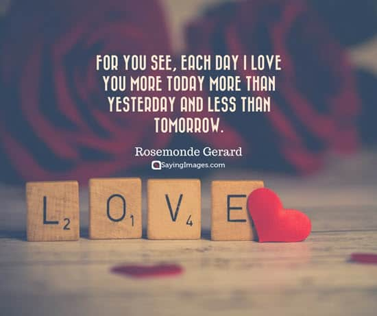 Happy Valentine s Day Images  Cards  Sms and Quotes 2017 rosemonde love quotes