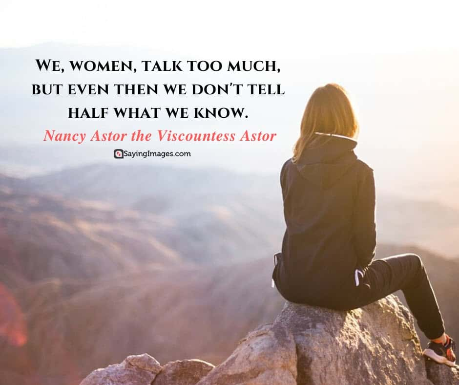 strong women talk quotes
