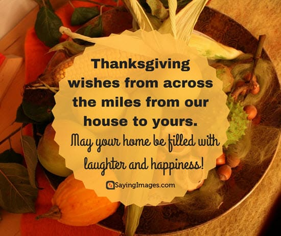 45 Best Thanksgiving Wishes And Greetings For Family And Friends