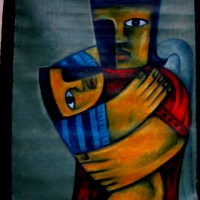 "2011 Nunelucio Alvarado Painting ""Mang Iloy"" For Sale"