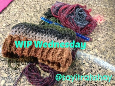 Attraktiv #WIP Wednesday: Unfinished Yarnthngs