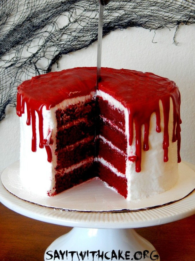 Bloody Halloween Cake – Say it With Cake