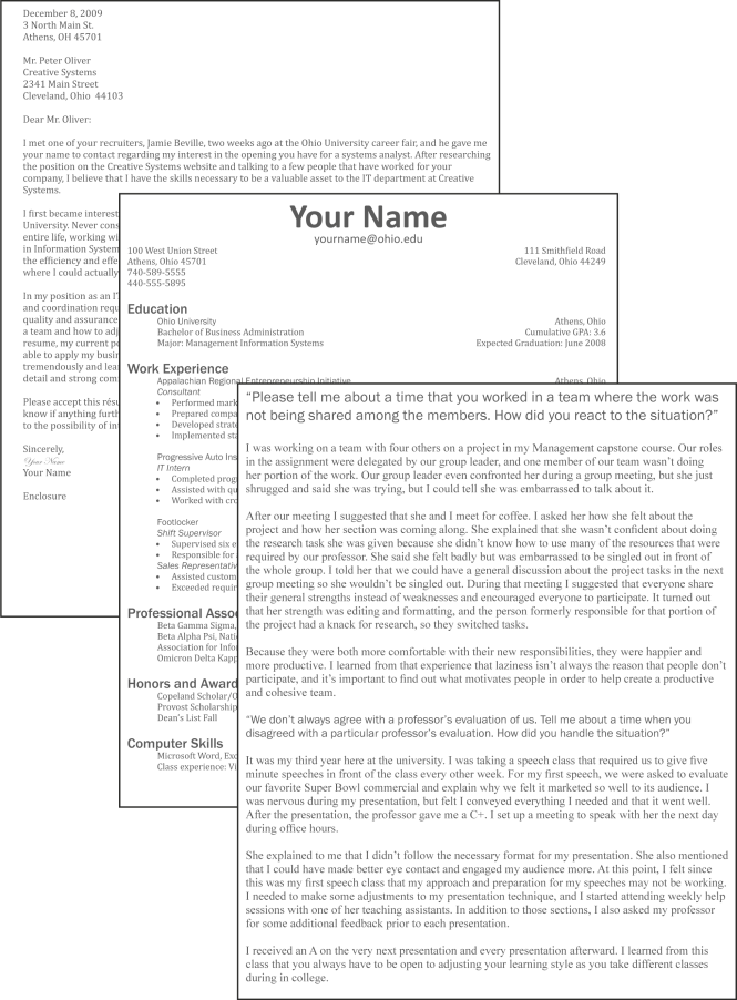 Resume Cover Letter Exles 8