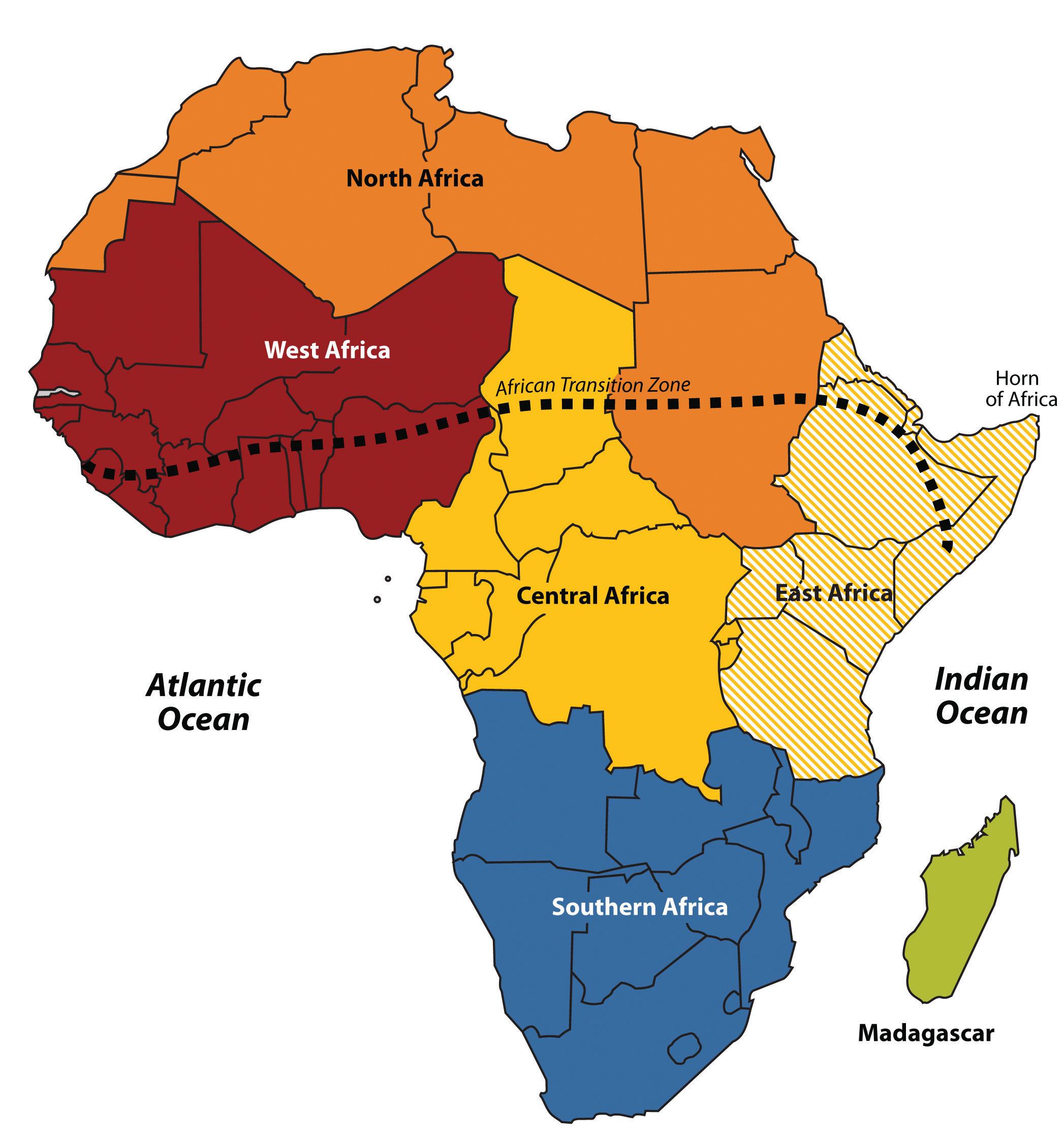 Subsaharan Africa