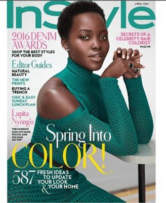 Lupita Nyong'o covers April Issue