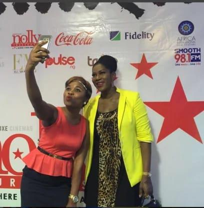 Stephanie Okereke celebrates AMVCA win in special way