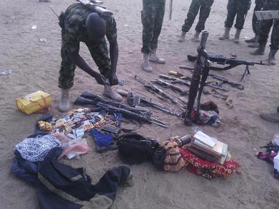 Troops destroy Boko Haram camp at Alajeri, kills many sect members