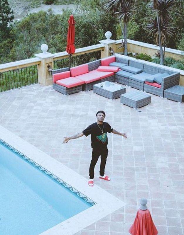 wizkid n ew house