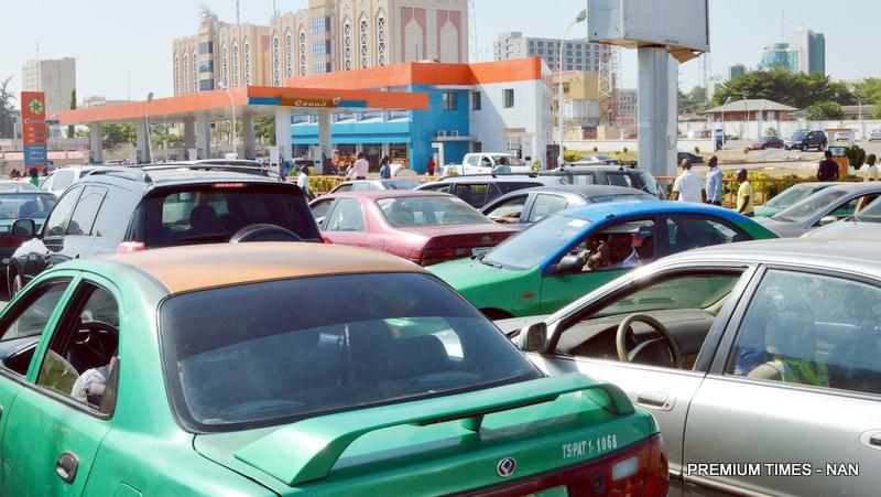 fuel queue