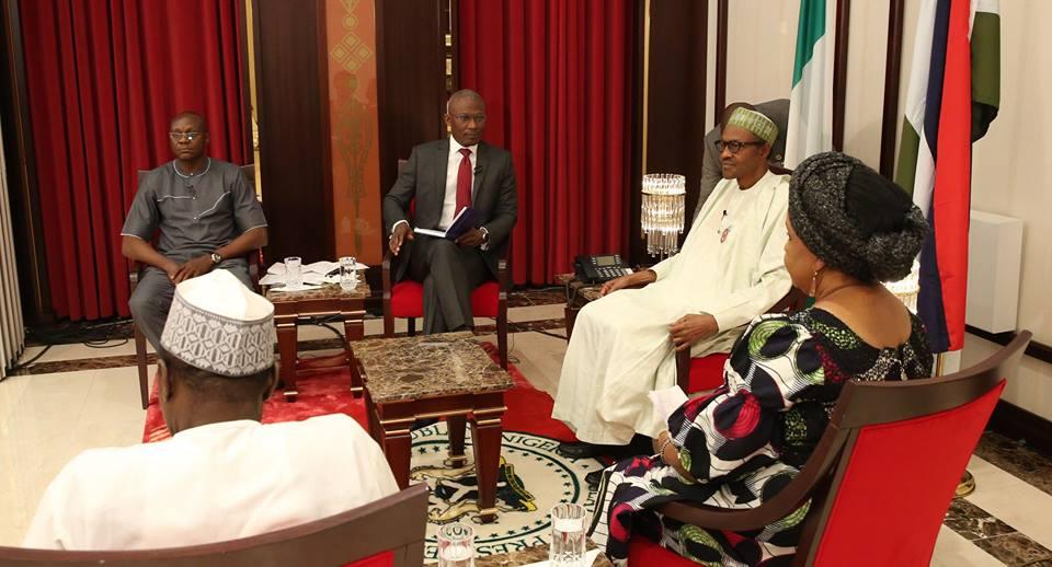 Buhari_media_chat