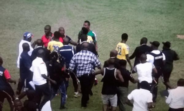 Heartland FC Fans in Owerri Attacks Ifeanyi Ubah FC