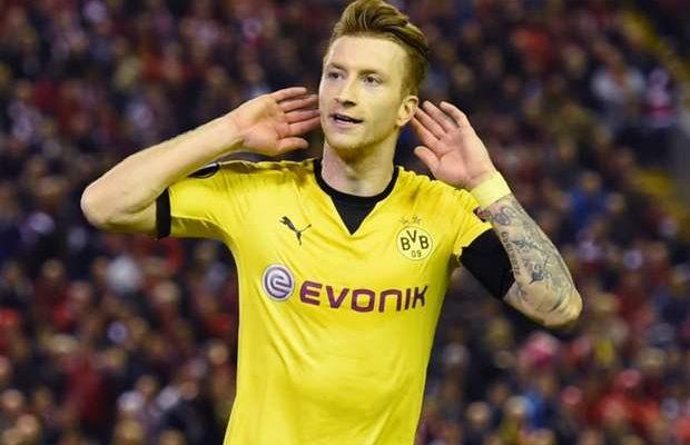 Marco Reus Beats Hazard, James as Cover Star for FIFA 17