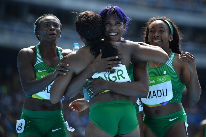 Okagbare leads Nigeria into relay finals