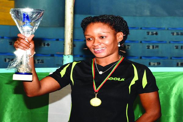 Oshonaike becomes African Women Champion Again