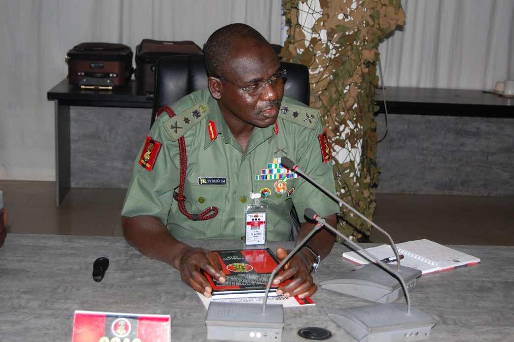 """No More Time To Waste"" - Gen. Buratai Tells Nigerian Troops"