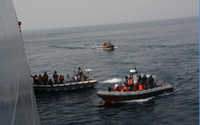 Nigerian Navy Foils Vessels Vandalisation Attempts