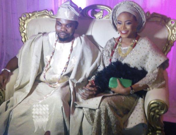 Comedian Omo Baba weds long-time girlfriend in Ibadan