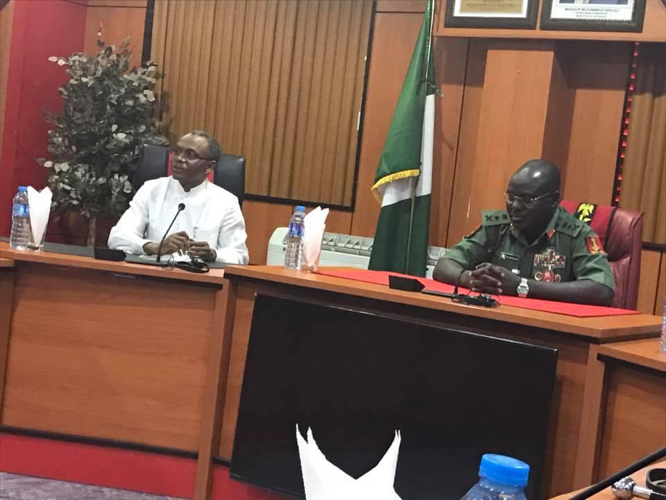 Gov. El-rufai Commends Nigerian Army, Request Troops Deployment