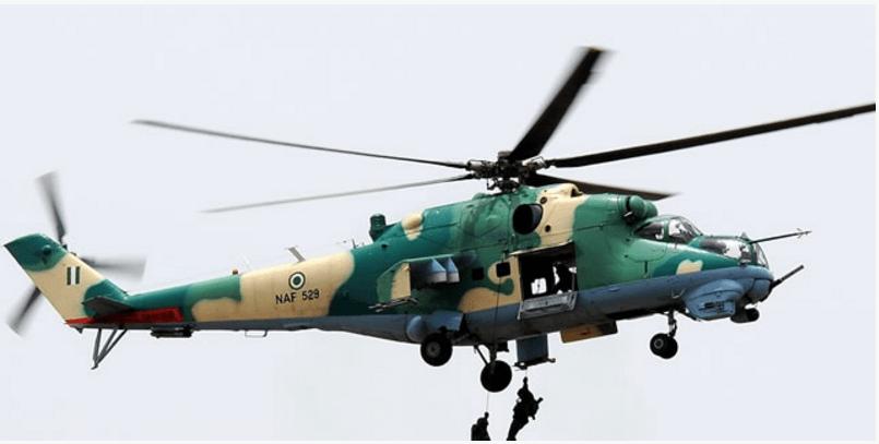 NAF Strike Boko Haram New Hideout In Northern Borno