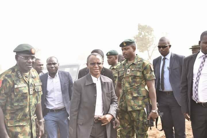 Gov. Mal. El Rufai Meets With Gen. Tukur Burutai To Strengthen Security In Kaduna