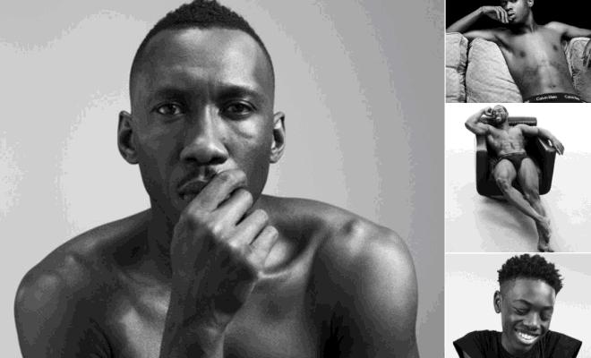 Men of Oscar-Winning Movie 'Moonlight' Strip for Calvin Klein