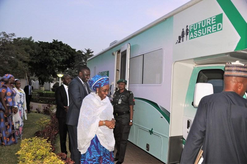 Aisha Buhari Commissions Mobile Clinic