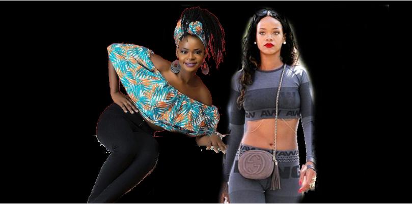 They Say Rihanna Looks Like Me – Olajumoke