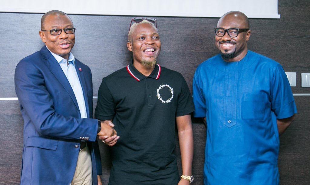 Olamide signed on as Sterling Bank Brand Ambassador