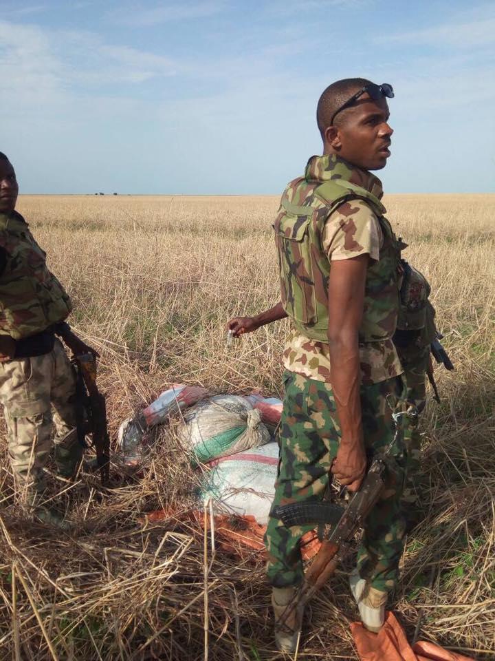 Nigerian Army Ambush Boko Haram Terrorists, Discover Improvised Explosive Device