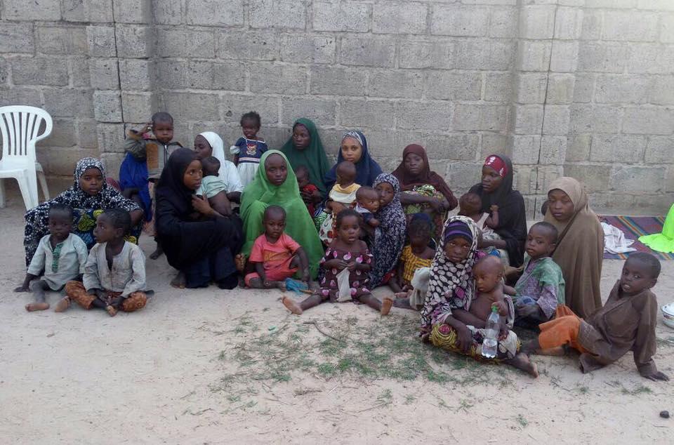 Nigerian Army Intercept 30 Fleeing Boko Haram Terrorists Families