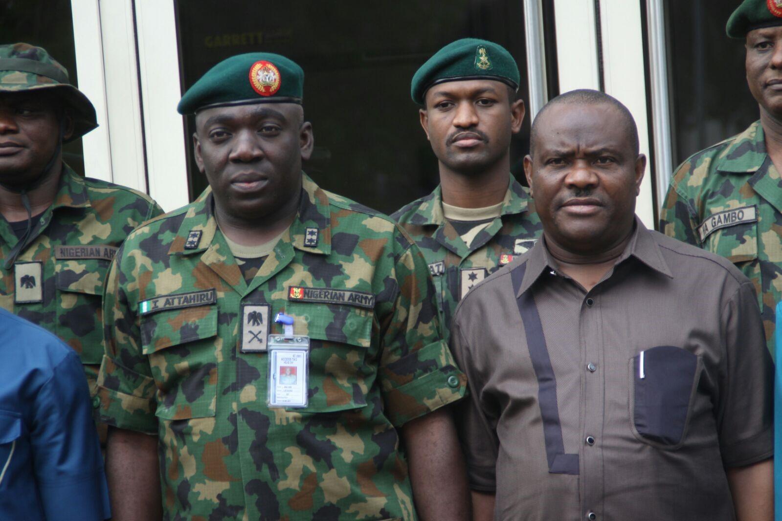 Nigerian Army Press Briefing By Operation Lafiya Dole Theatre Commander, Maj. Gen. I. Attahiru