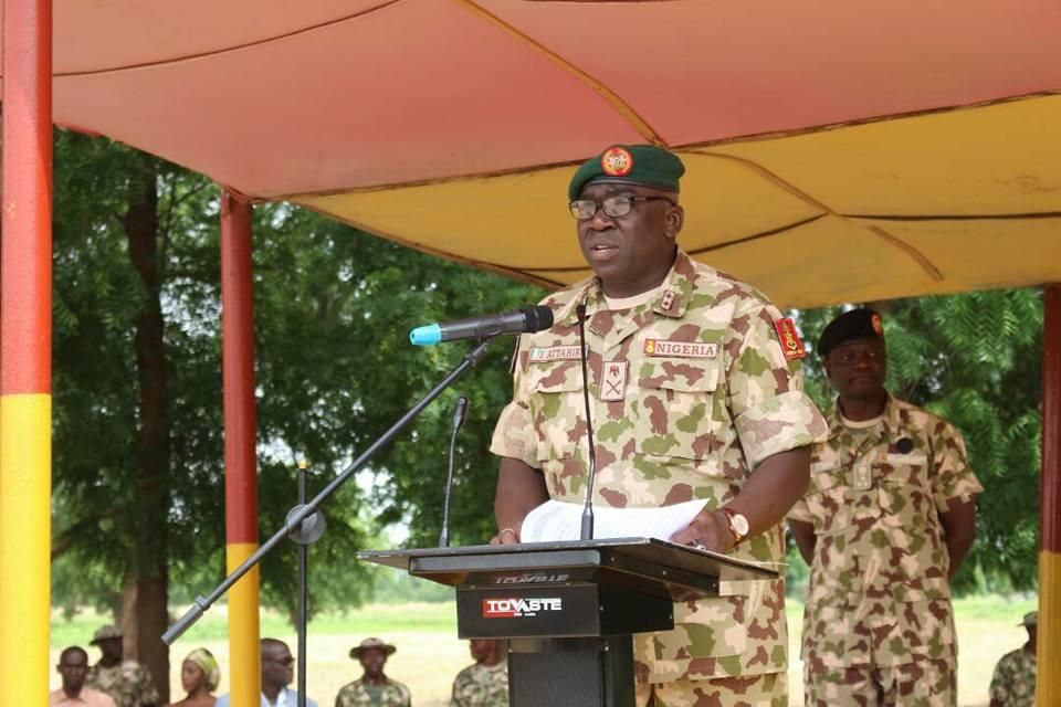 Major Gen. Ibrahim Attahiru Text Of Media Briefing On Activities Of Operation Lafiya Dole