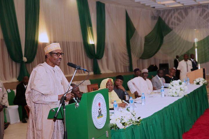 President Buhari Speaks At Presidential Summit On Education