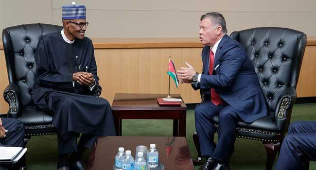 Jordan's King Abdullah Consoles President Buhari Over Military Losses