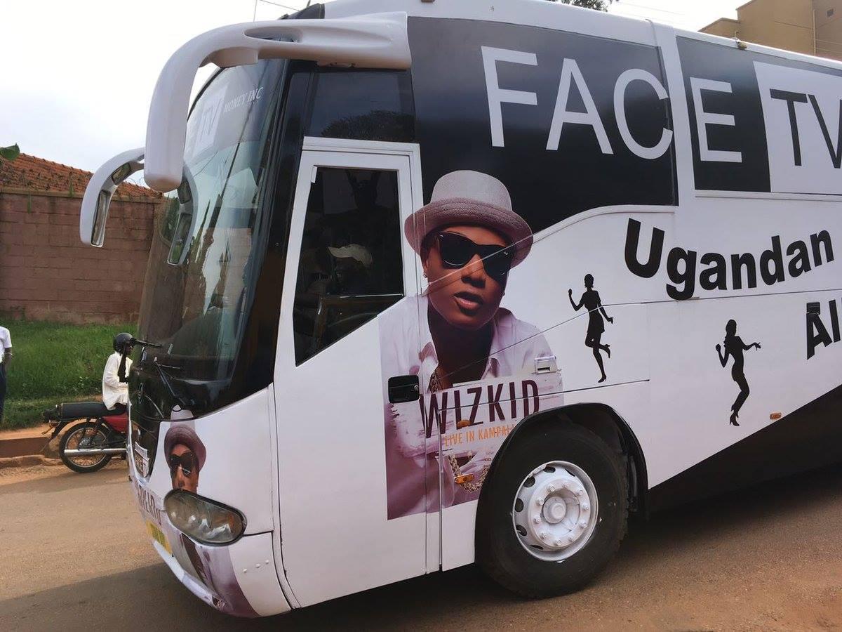 Wizkid Receives Hero's Welcome In Uganda