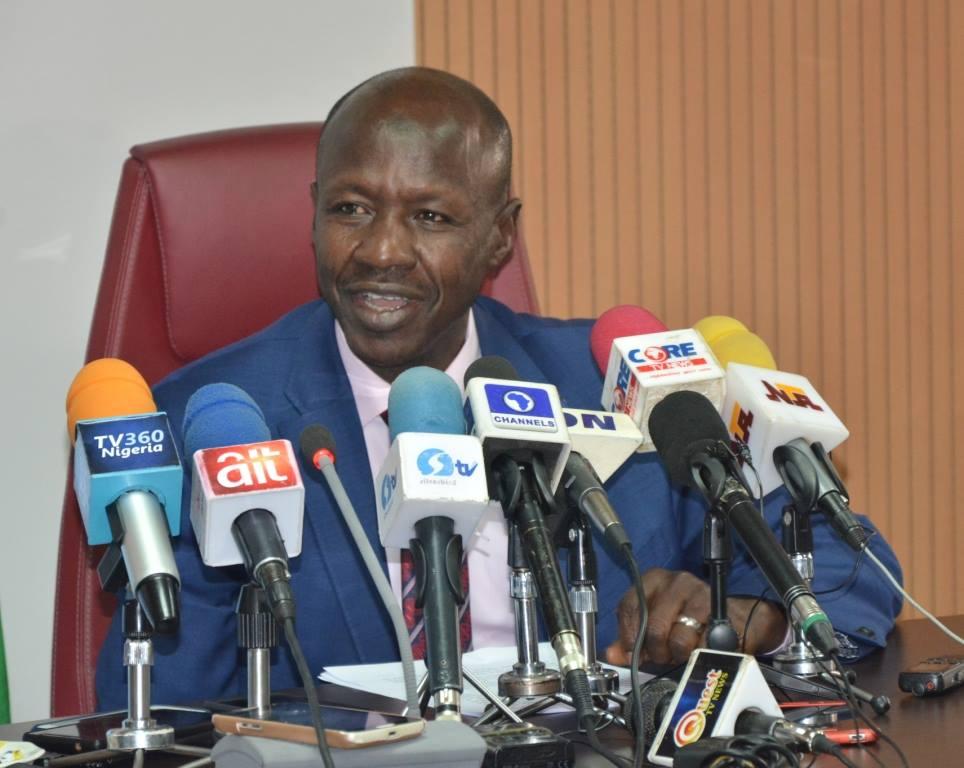 EFCC Chair, Magu Lauds Buhari's Award of Africa Anti-Corruption Champion