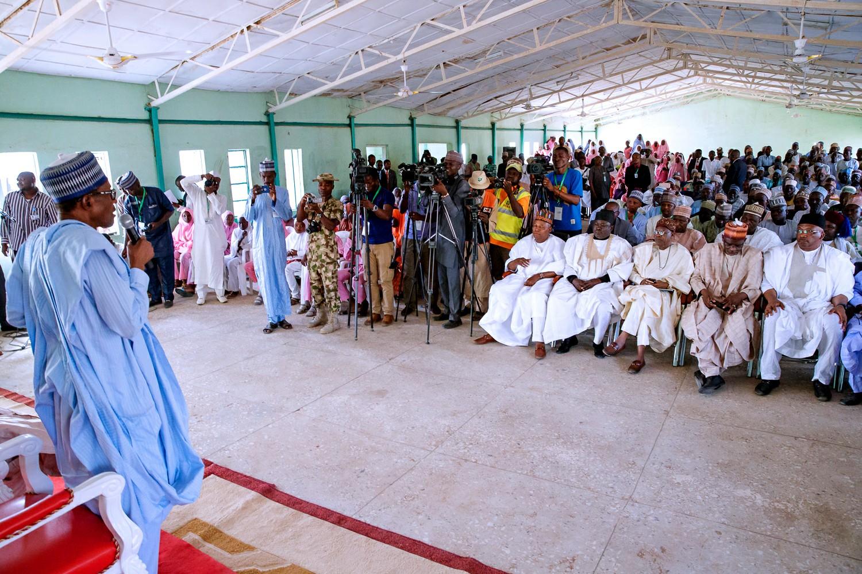 Dapchi Girls Will Be Rescued, President Buhari Assures