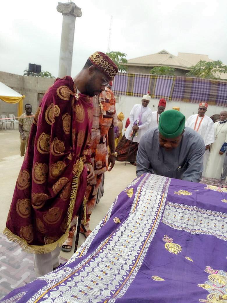 Ozuruigbo V Funerary Monument Unveiling Ceremony